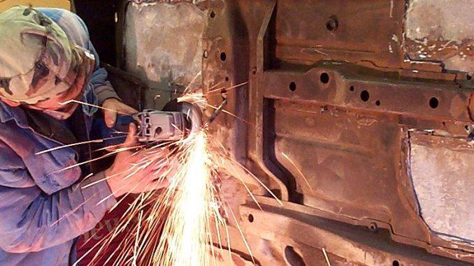 Project CJ-7 Tub Restoration