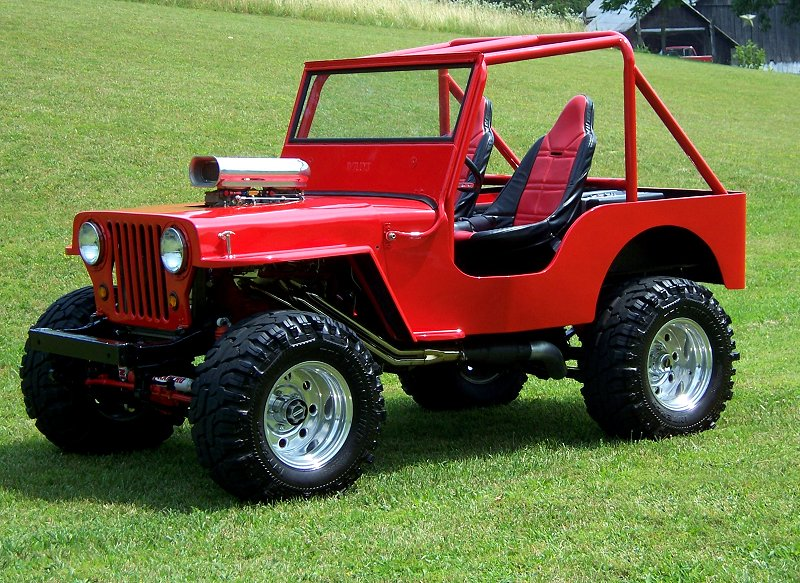 Mike Cool's 1950 CJ-3A