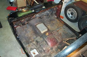 Jeep Tub Restoration