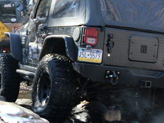 MT Tires on Rocks