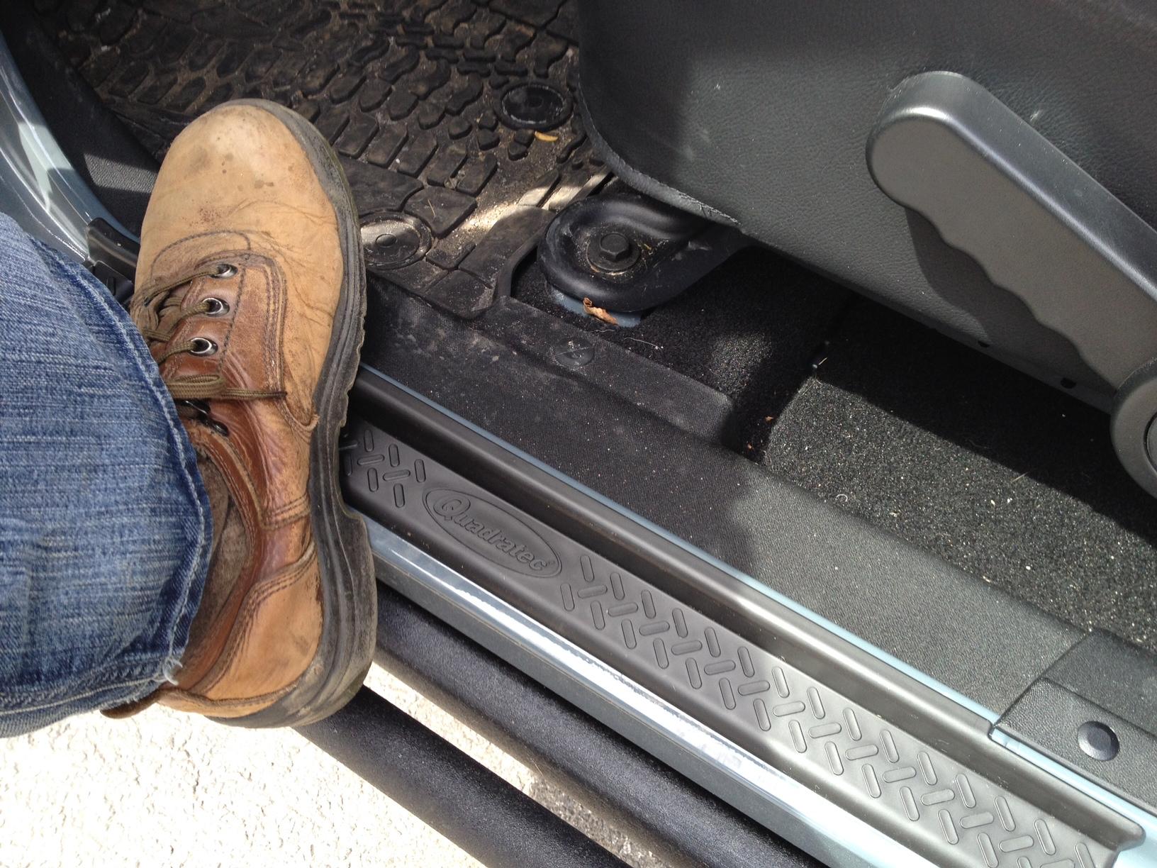 Jeep grand cherokee door entry guards