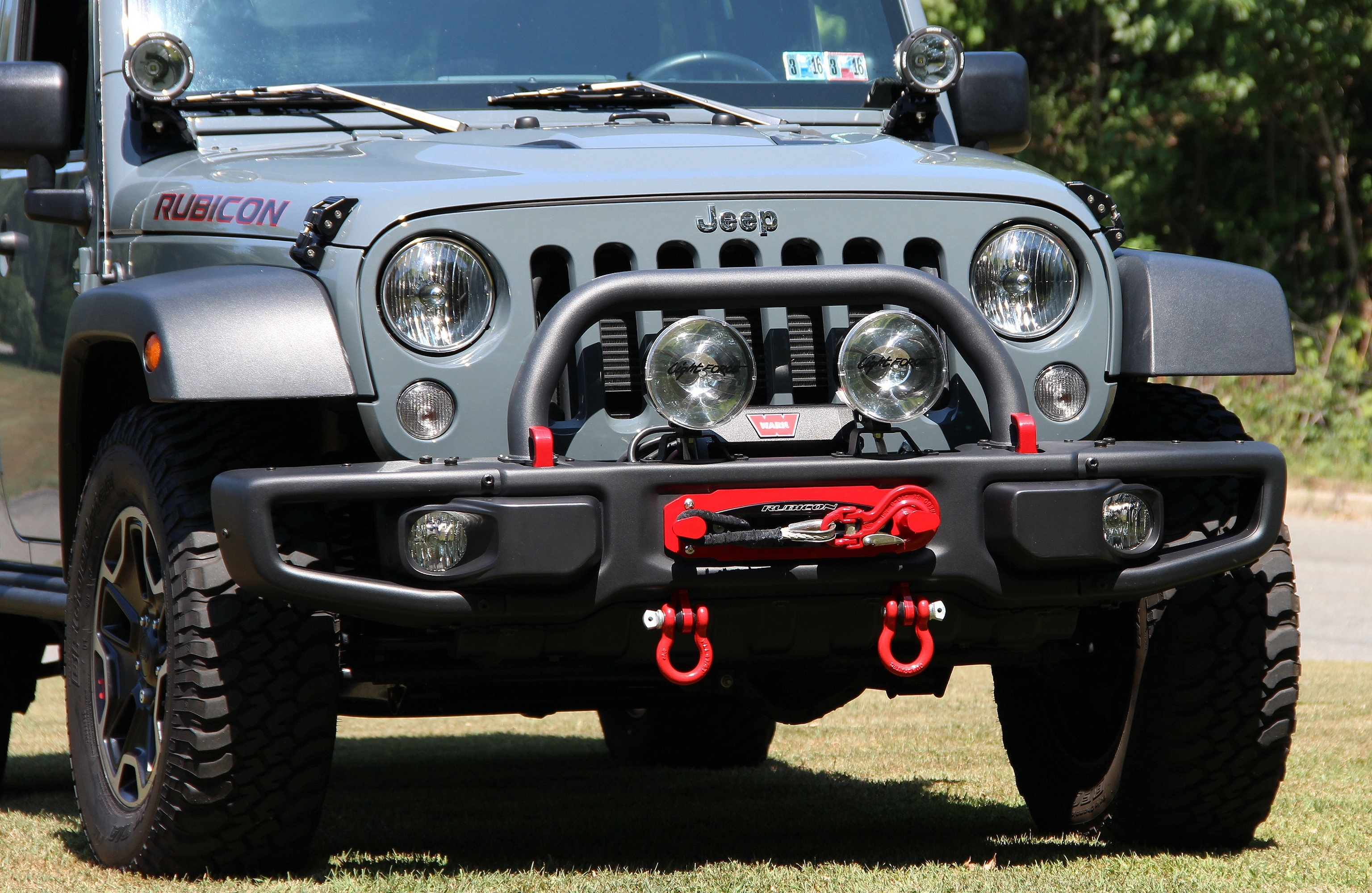 Maximus 3 Winch Mount Classic Hoop Install Jeep Rock Lights Installation On Our Rubicon X