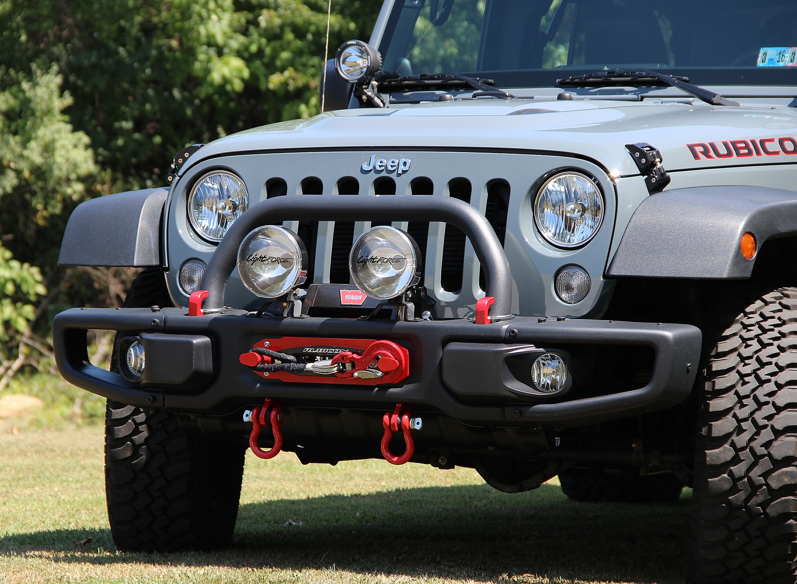 Review Maximus 3 Classic Hoop Winch Mount Installing A Jeep What Follows Is Our Of The Installation Design And Appearance Light Brackets Hook Anchor