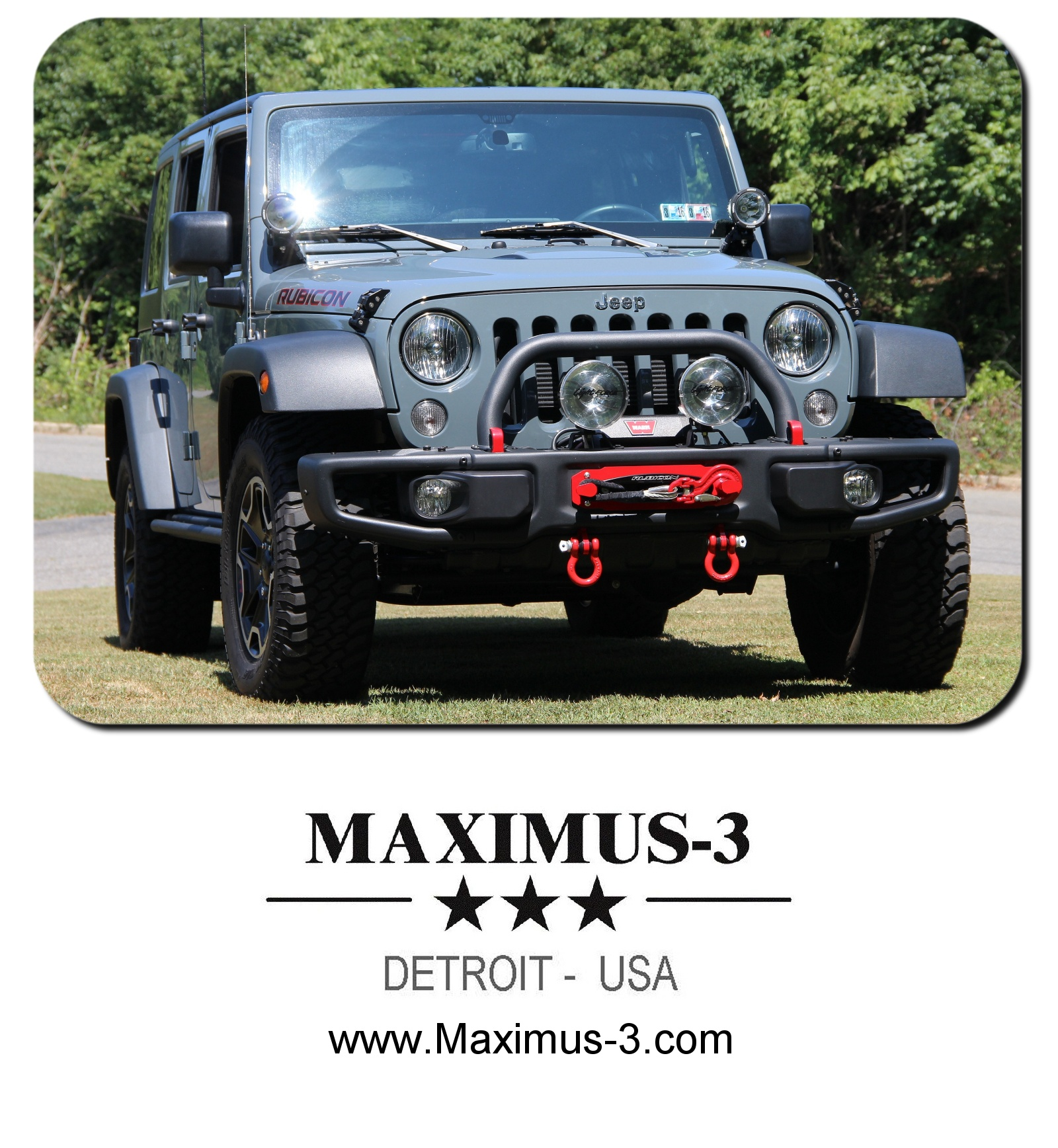 Maximus 3 Winch Mount Installation Bumper Removal Rock Wiring Diagram Install