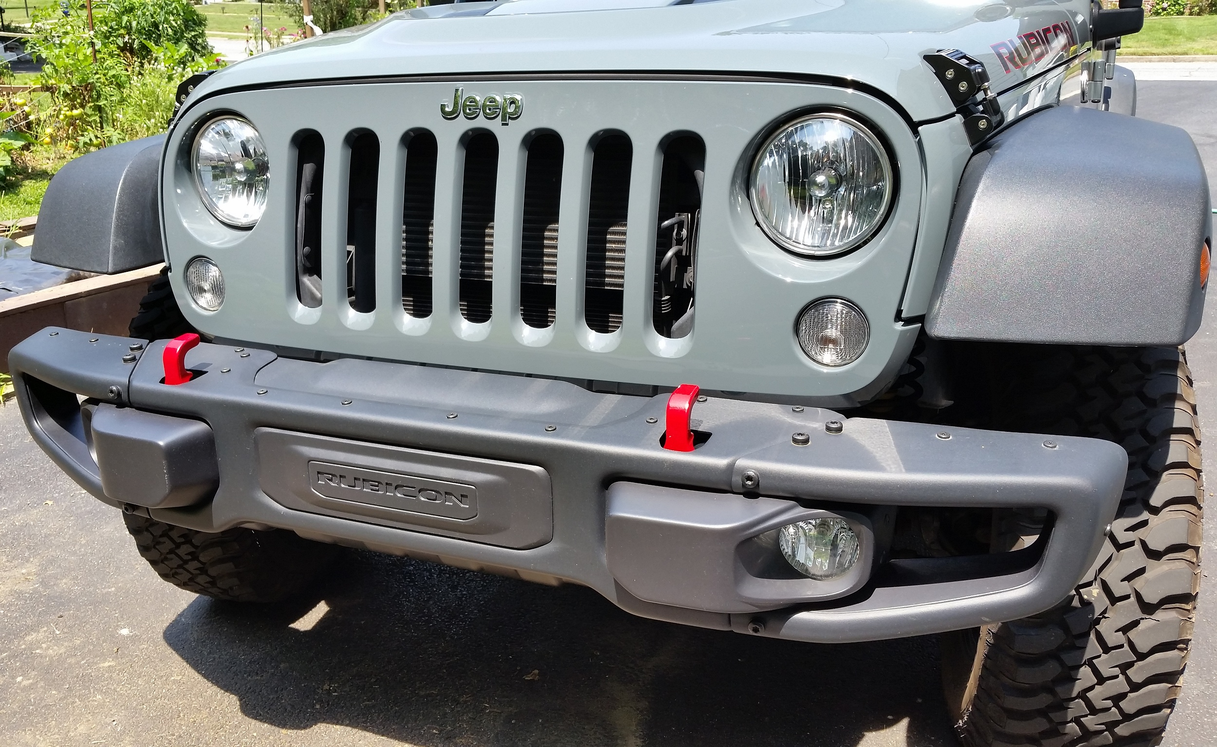 Maximus 3 Winch Mount Installation Bumper Removal Wiring Schamitic Jeep Wrangler Rubicon X Intro Enhancements