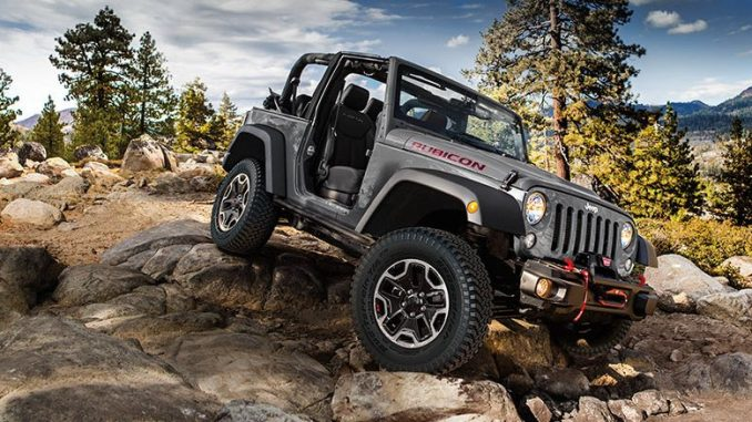 Jeep JK Rubicon Hard Rock on the Rubicon Trail