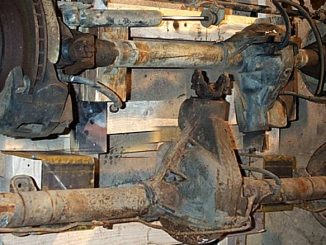 Jeep CJ-7 Dana 44 Axle Swap