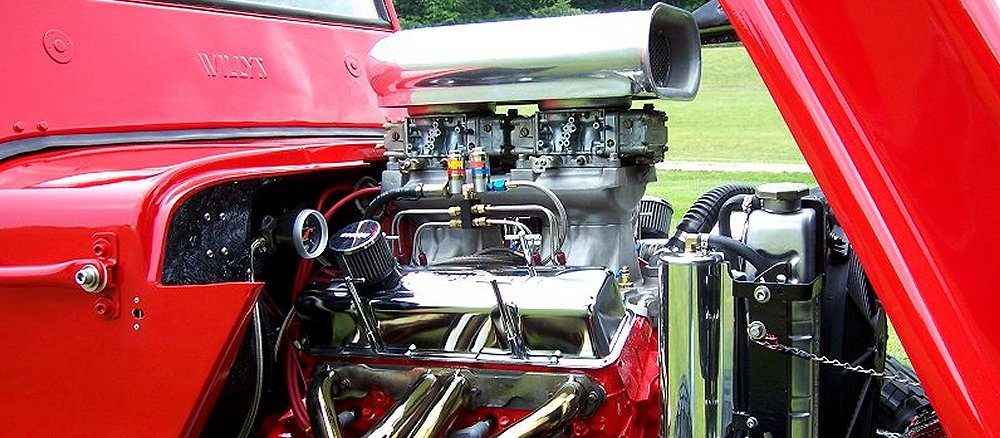 Mike Cool's CJ3A Engine