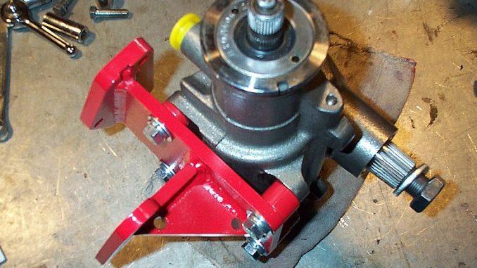 Jeep CJ-7 AGR Steering Pump and Gear Install