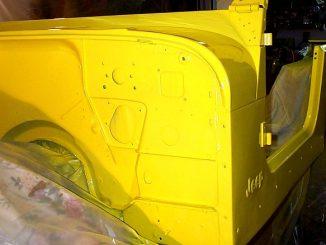 Jeep Tub Restoration