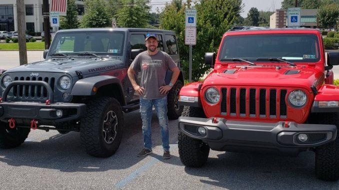 Jeep JK for a Jeep JL