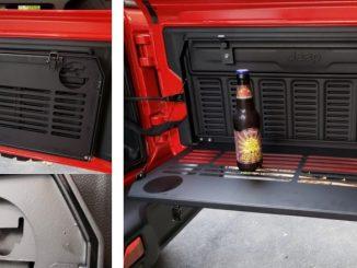 Mopar 82215416AB Tailgate Table for 18-19 Jeep Wrangler JL